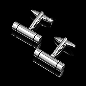 Irregular Marvelous Zinc Alloy Groom Wear Cufflinks