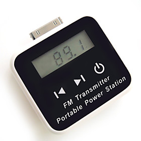 FM Transmitter   Solar Charger for iPhone/ipod/Cellphones
