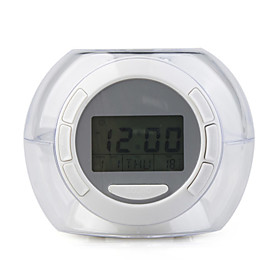 7 Color Changing Light Alarm Clock With 6 Nature Sound