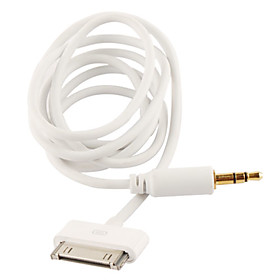 3.5mm Audio Aux Stereo Cable for iPhone, iPad and iPod(100 CM-Length)
