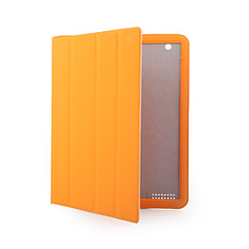 New lightweight Slim High Quality Magnetic Polyurethane Cover/Case/Skin for Apple iPad 2 (Orange)