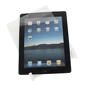 Extremely Transparent Screen Protector Cleaning Cloth for iPad 2 and The new iPad