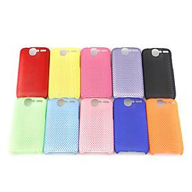 Mesh Hard Back Cover Case for HTC Desier HD Color Random