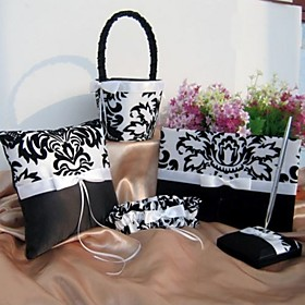 White and Black Florish Wedding collection