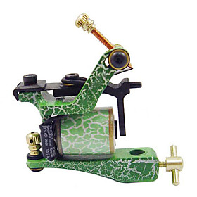 Low Carbon Steel Tattoo Machine Shader with 14 Wrap Coils