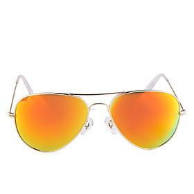 Spectralite Sunglasses Retroreflector with UV400 UV Protection (Golden Frame Golden Lens)