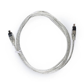 USB to Firewire IEEE 1394 Mini 4 Pin iLink Data Cable
