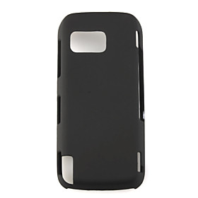Hard Rubber Case Cover For Nokia 5800 Black