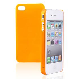 Crystal Hard Back Case for iPhone4(Random Color)