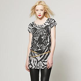TS Tiger Print Shirt