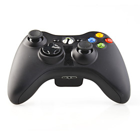 Wireless Game Controller with Receiver for XBox 360 Black