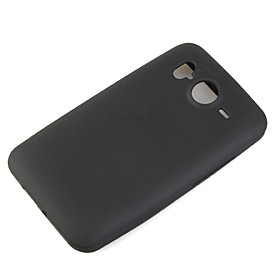Protective Silicone Case for HTC Desier HD Black