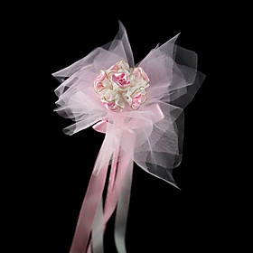Gorgeous Tulle/ Satin Wedding Flower Girl Flower/ Headpiece/ Corsage