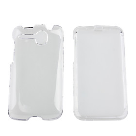 Crystal Clear Hard Case Cover for HTC Desire