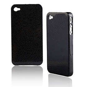 Waterdrop Pattern Plated Protective Case for iPhone 4 (Random Color)