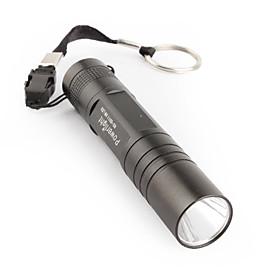FX HX-G011 3W LED Mini Flashlight 1XAA Black