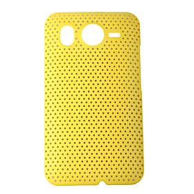 Mesh Hard Back Cover Case for HTC Desier Color Random