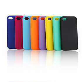 Net Pattern Protective Hard Case for iPhone 4 (5 Pack, Assorted Colors)
