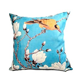 Cushion Cover-blue magnolia (1422)