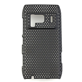 Mesh Hard Back Cover Case for Nokia N8 Black