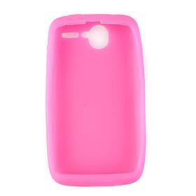 Protective Silicone Case for HTC Desire Color Random