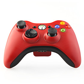 Wireless Game Controller with Receiver for XBox 360 Red