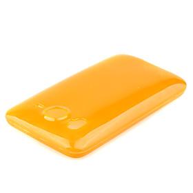 Circle Pattern Protective TPU Case for HTC Desier HD Color Random