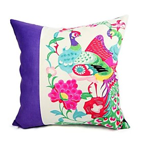 cushion cover-paper  cut bird II