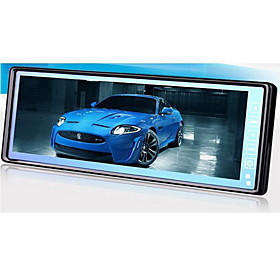 10.2 Inch Digital Screen Car Rearview Monitor With Touch Button   Dual Video Input