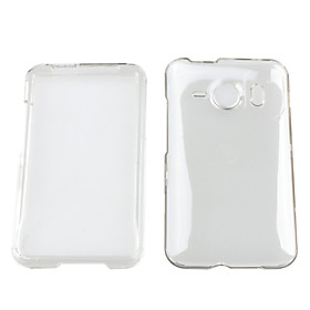 Crystal Hard Case Cover for HTC Desire HD
