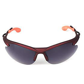 Scratch Proof Cycling Eyewear with Shatterproof Polarized Lens Dark Lavender
