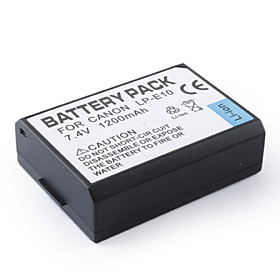 Replacement Digital Camera Battery LP-E10 for Canon EOS 1100D