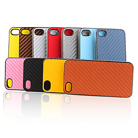 Woven Pattern Protective Hard Case for iPhone 4 (10 Pack, Random Colors)