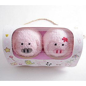 Piggy Towels with Refinement Packing(set of 2)