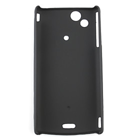 Protective PVC Case Cover for Sony Ericsson X12(black)
