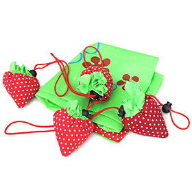 Cute Strawberry Market Bags Favors (Set of 12)