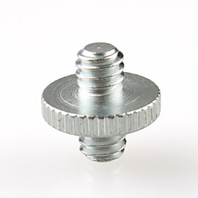 1/4 inch 1/4 Male to 1/4 Male Threaded Screw Adapter