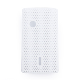 Net sharp protective cell phone case for Sony Ericsson X8(white)