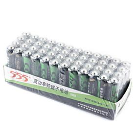 555 1.5V AAA Alkaline Zinc-Manganese Dioxide Battery (4 dozen)