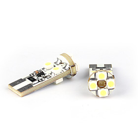 Car T10 W5W 8 SMD White High Power LED Light