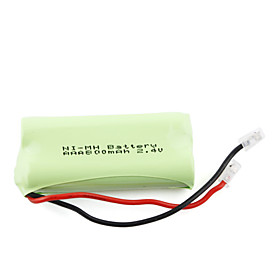 800mAh 2.4V Mi-MH Rechargeable Battery Green (2-pack)