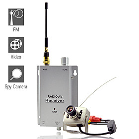 Wireless Camera Transmitter   Receiver Set