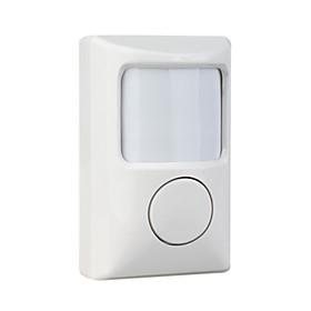 Independently Wireless Infrared Motion Detecting Alarm -Easy solution for home or office security guarding