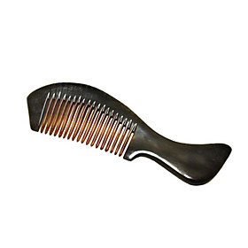 Natural Water Buffalo Horn Comb