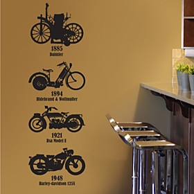 Moto Decorative Wall Sticker(0565-1105105)