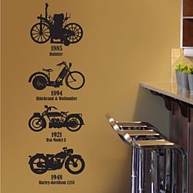 Moto Decorative Wall Sticker(0565-1105105)