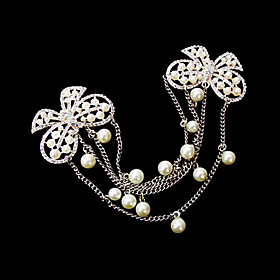 Lovely Alloy With Imitation Pearls Wedding Bridal Headpiece