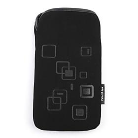Soft Pouch Velvet Protective Carry Bag Cover For Nokia E71(black)