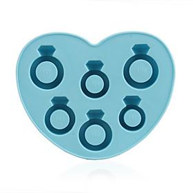 Romantic Ring Shaped Ice Tray Mold