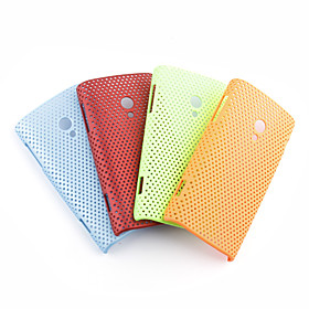 Net sharp protective cell phone case for Sony Ericsson X10(multicolour)